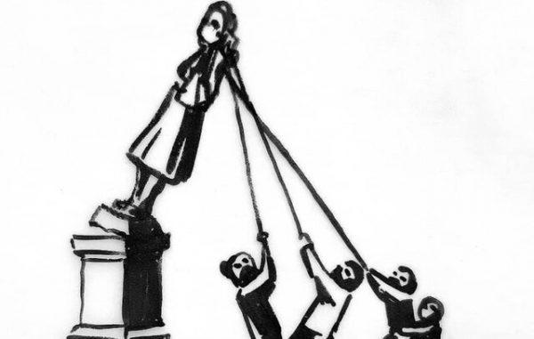 پیشنهاد «بنکسی» برای حفط مجسمه سرنگونشده تاجر برده