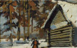 زمستان از نگاه یکی از مشهورترین نقاشان روس